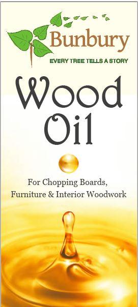 OIL0250 - Bunbury Wood Oil (250ml)