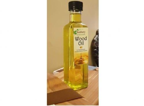 OIL0250 - Bunbury Wood Oil label