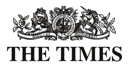 The Times (UK) – John Lewis stocking Bunbury Boards